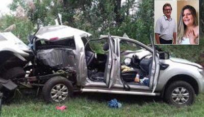 Pai e filha, moradores de Dourados, morrem em acidente no Paraná