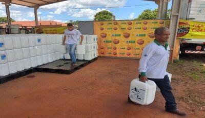 Estado distribui 9,6 mil litros de inseticida e 100 Kg de larvicida aos municípios de MS