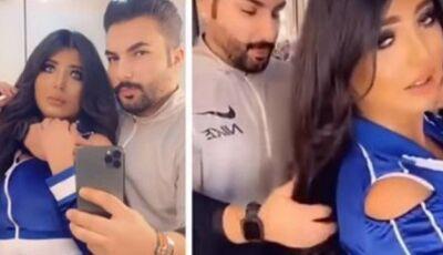 Casal é preso no Kuwait por vídeo em que marido escova o cabelo da mulher