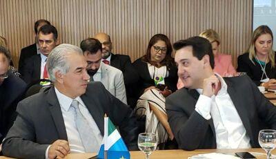 Reinaldo pede criação de Fundo de Ressarcimento da União para poder baixar ICMS dos combustíveis