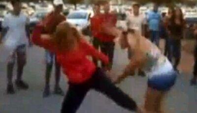 Mulher é agredida em bar por outras duas com chutes, socos, cadeiradas e copo de vidro em Deodápolis