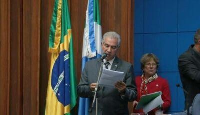 Reinaldo diz que MS sobreviveu à crise e usará a tecnologia para cortar gastos