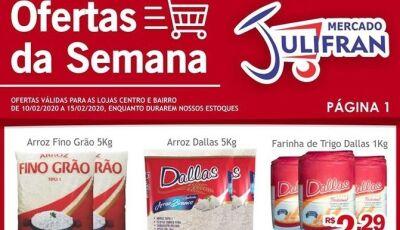 Confira as OFERTAS DA SEMANA que vão até sábado no Mercado Julifran de Fátima do Sul