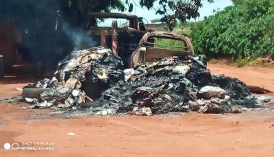 Incêndio em veículos pode ter sido criminoso em Glória de Dourados