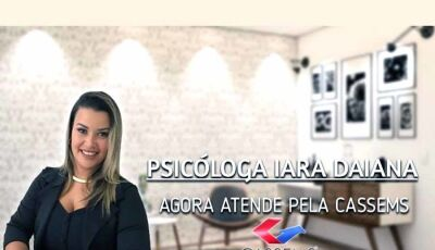 Agora Fátima do Sul dispõe da Psicóloga Iara Daiana