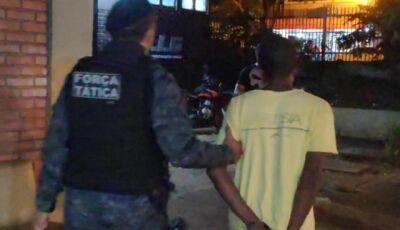Acusado de atirar em motociclista que chegou pilotando em Upa em Dourados é preso em Fátima do Sul