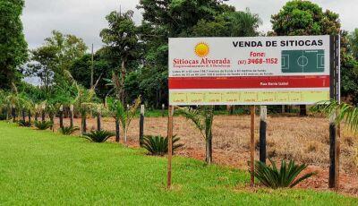 Sitiocas Alvorada com lote de até 194 metros e uma localização ótima entre Vicentina e Fátima do Sul