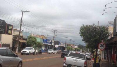 Fátima do Sul e cidades de MS estão em alerta para tempestades e ventania nesta terça-feira