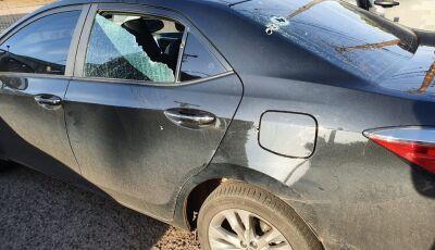 Carro de deputado federal é atacado a tiros em Campo Grande e PF investiga