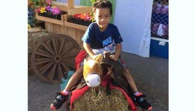 Criança de 6 anos é atropelada por carreta e morre em MS