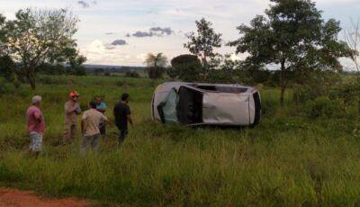 Acidente entre Ivinhema e Angélica deixa duas pessoas feridas