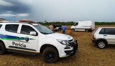 Filhos identificam corpo de homem encontrado seminu em lavoura de MS