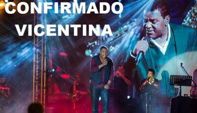 Em noite de Feira Livre, prefeito surpreende e anuncia Raça Negra para o aniversário de Vicentina
