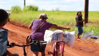 Cestas alimentares do Governo do Estado garantem mantimentos para 72 mil indígenas em MS