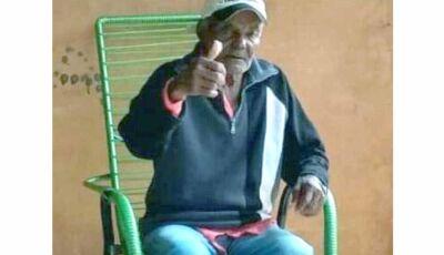 Família procura por idoso que há três dias saiu de casa em Vicentina