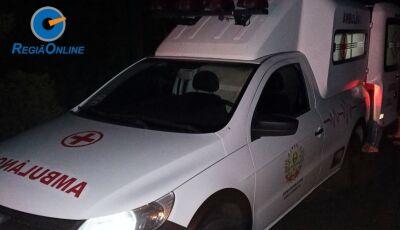 Tratorista atropela 2 homens próximo ao Distrito de Guassulândia em Glória de Dourados