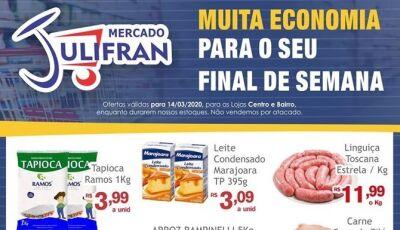 Confira as OFERTAS deste sábado no Mercado Julifran em Fátima do Sul