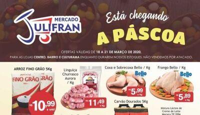 Confira as SUPER OFERTAS que vão até neste sábado no Mercado Julifran em Fátima do Sul