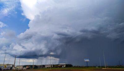 Fátima do Sul e Vicentina e mais 39 cidades de MS em sinal de alerta para chuvas intensas