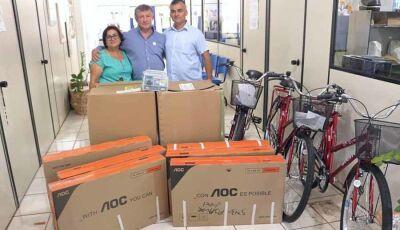 Eraldo entrega novos equipamentos que vão suprir as necessidades da Saúde em Jateí