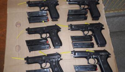 Com apoio da PRF, Guarda recebe R$ 1 milhão em armas e viaturas