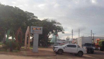 Frente fria chega com alerta para temporais para Fátima do Sul e 43 cidades do MS