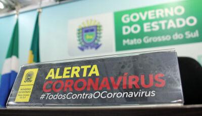 Mais 4 casos de coronavírus é registrado chegando a 16, com mais de 235 notificações em MS