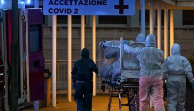 Itália registra 627 novas mortes por coronavírus somente hoje sexta-feira (20)