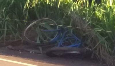 Identificado a vítima fatal de acidente próximo ao trevo de Jateí