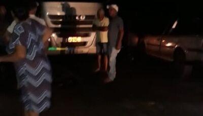 Homem é atropelado por carreta no distrito Guassulândia em Glória de Dourados