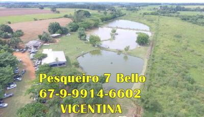 Pesqueiro 7 Bello não abrirá esse fim de semana, mas estará atendendo pedidos via whats em Vicentina