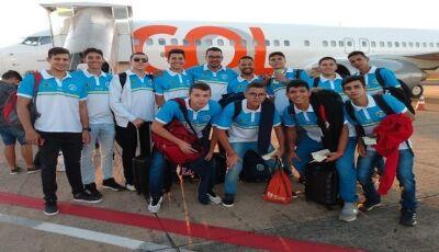 Seleção Sub-19 de MS disputa o Campeonato Brasileiro de Voleibol no Rio de Janeiro