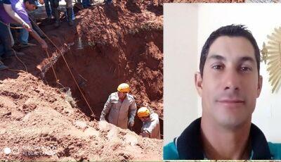 TRAGÉDIA: Homem morre após fossa desabar sobre ele em Glória de Dourados