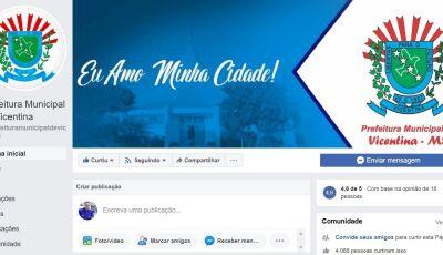 Prefeitura baixa decreto para atendimento ao público somente via telefone ou e-mail em Vicentina