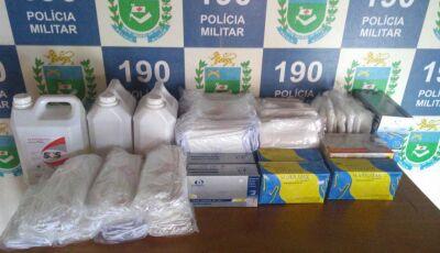Polícia Militar e Civil recebe e agradece Juiz por destinar R$ 3 mil para compra de EPI em Fátima