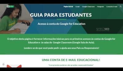 Alunos e professores da rede estadual já podem acessar plataforma de aulas remotas