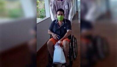 MAIS UM: após cinco dias na UTI, paciente é curado da covid-19 em Campo Grande