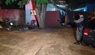 AGORA: Dois homens são mortos a tiros ao lado de uma escola em Dourados