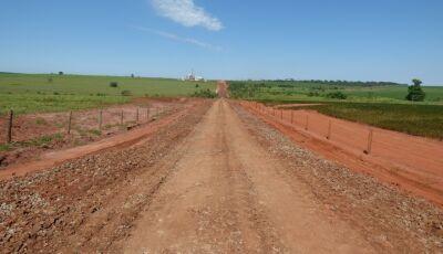 Jateí começa recuperar cerca de 15 KM de estradas vicinais só nesta 1ª etapa