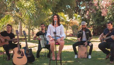 Cintia Vidal começa as gravações do seu primeiro EP, 'carro chefe' para gravação do 1º CD Ao Vivo