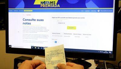 Programa Nota MS Premiada tem 04 ganhadores que vão dividir o prêmio de R$ 100 mil