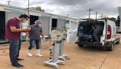 Ação conjunta vai consertar respiradores que estão sem uso em Mato Grosso do Sul