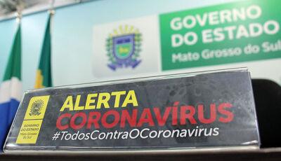 AGORA: Saúde comunica 3º óbito vítima de coronavírus em MS