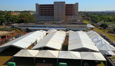 Regional instala Hospital de Campanha para atender demanda do coronavírus