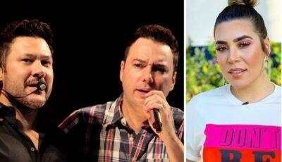 Dupla de MS briga com Naiara Azevedo por publicar música sem autorização
