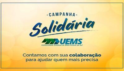 UEMS promove campanha em auxílio à população vulnerável do Estado
