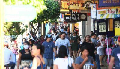 ALERTA: Primeiro sábado após volta do comércio leva multidão às ruas de Dourados