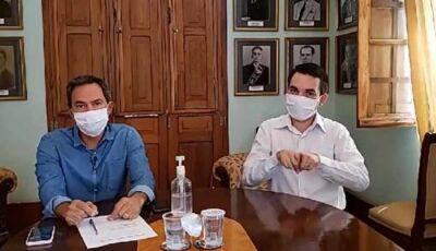 Prefeito e governador vão discutir volta às aulas com ministro da Saúde