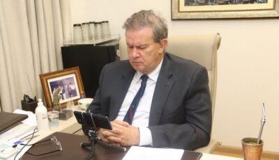 Eduardo Rocha defende trabalho do governo de MS e prefeitos no combate a Covid-19, destaca Vicentina