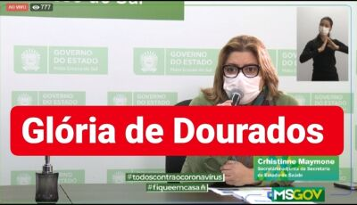 Glória de Dourados registra seu 4º caso confirmado pro Covid-19 e 02 suspeitos, Confira o Boletim